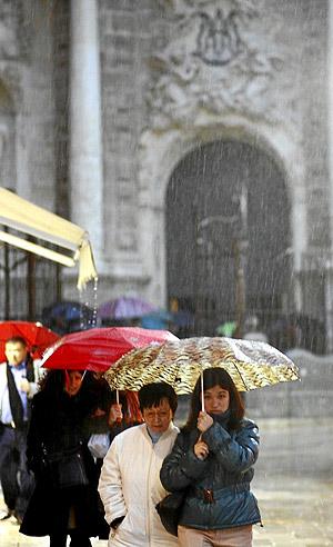 pluies valencia