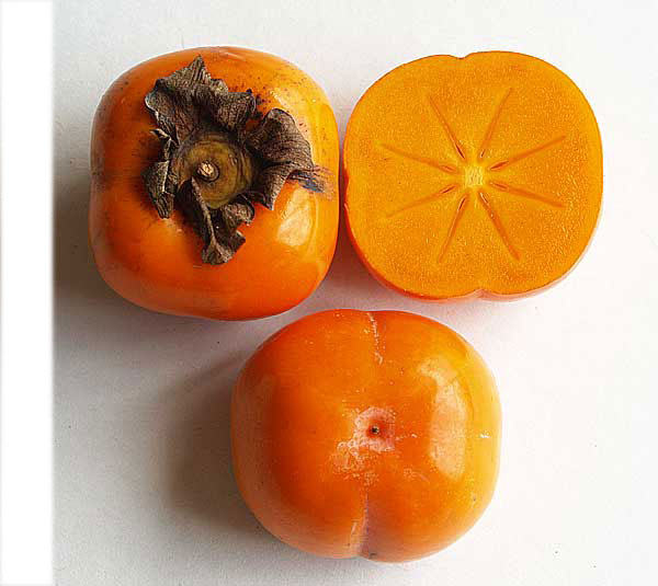 Oranges et clémen... Fuyu Persimmons