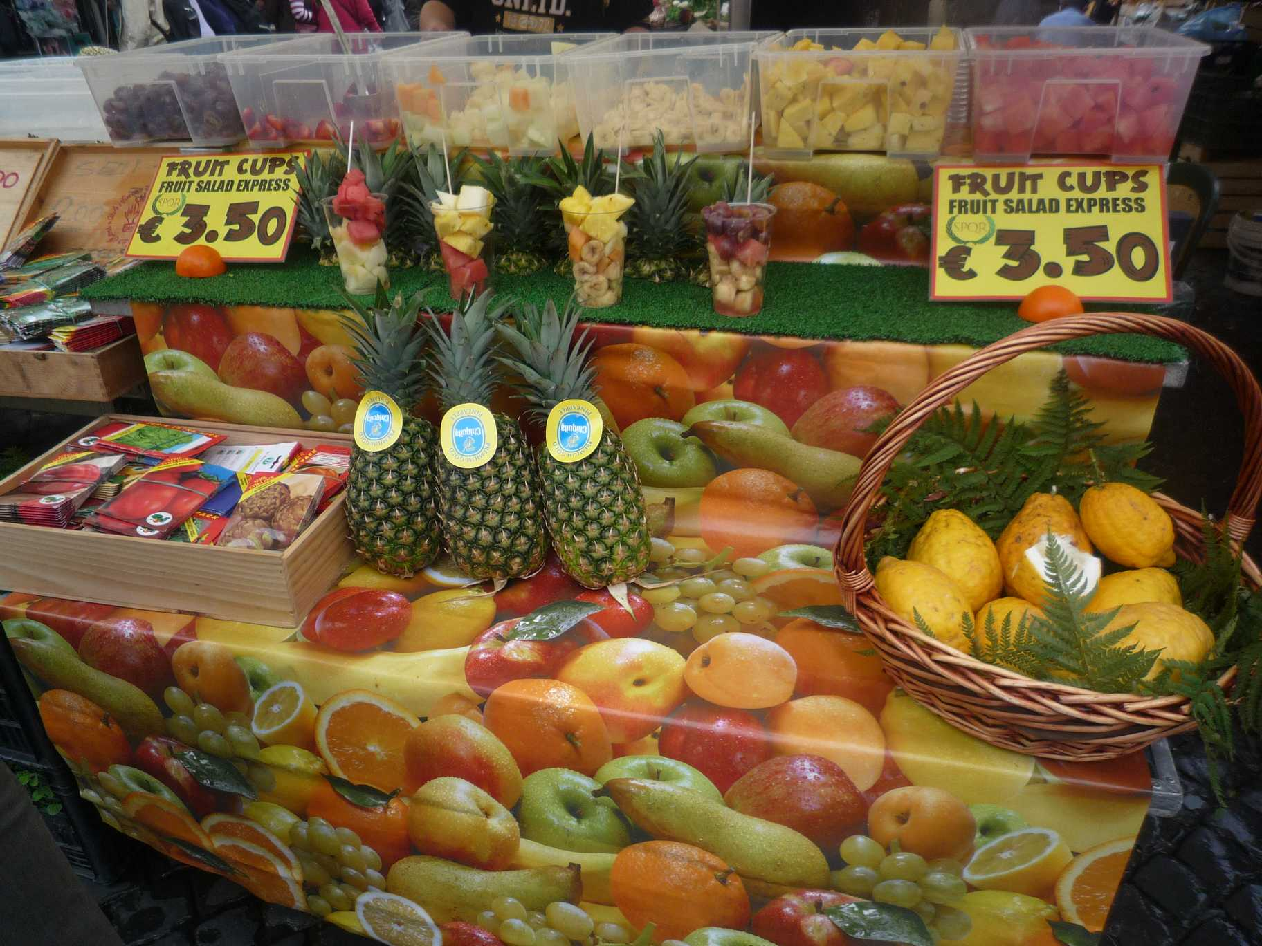 vendeurs fruits ROMA