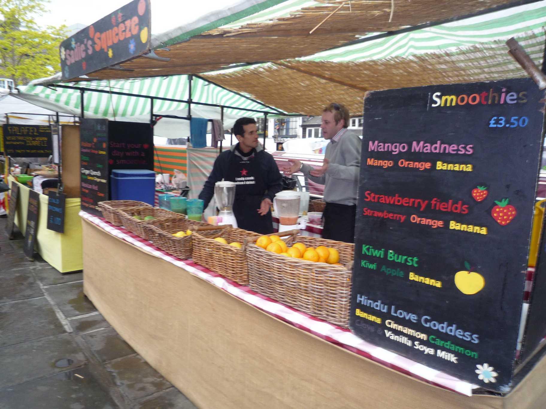 vendeur fruits et legumes angleterre