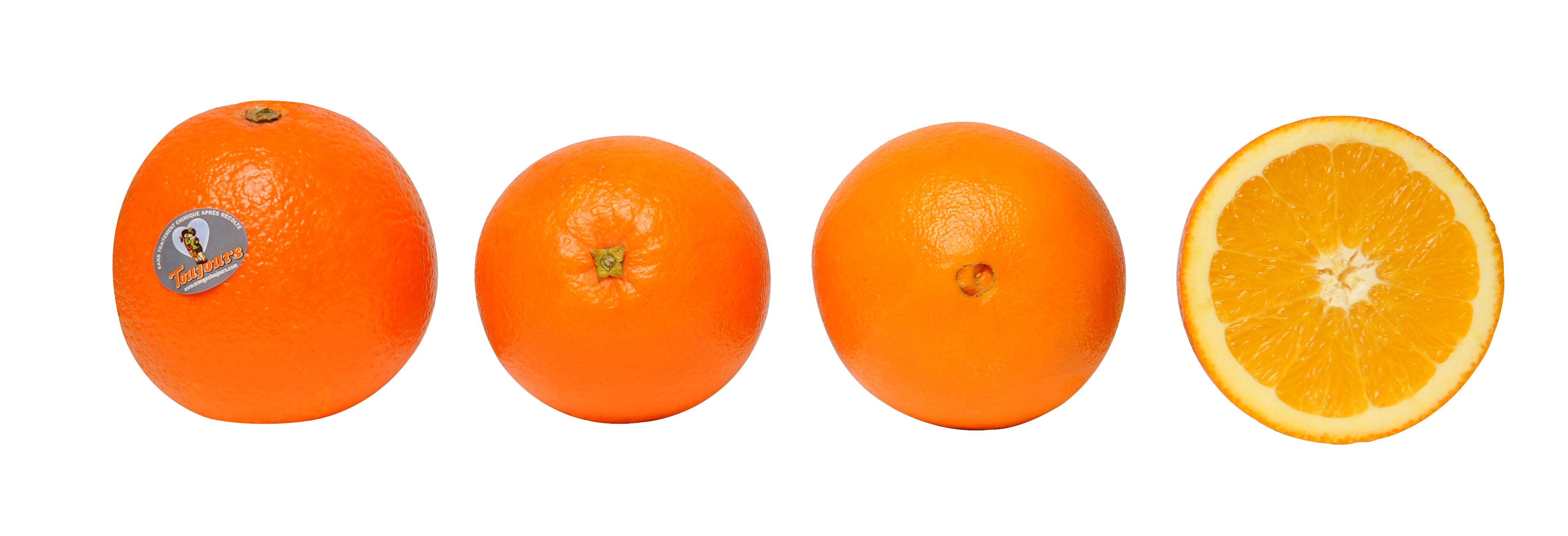 oranges non traitées toujours