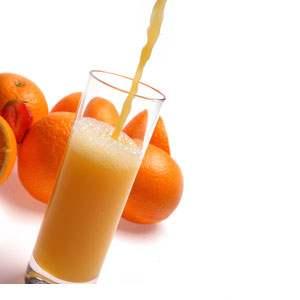 jus d'orange frais d'espagne