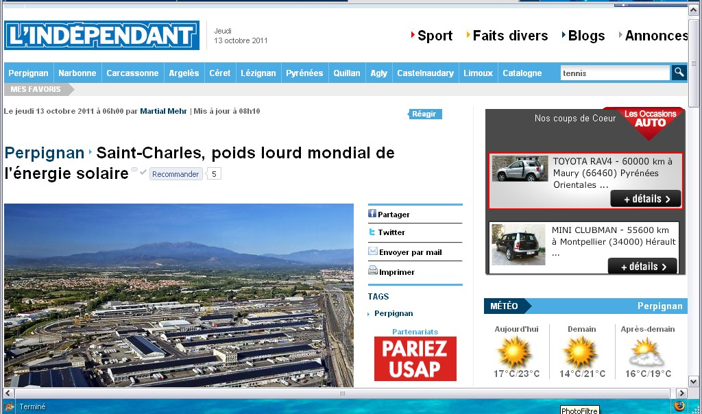 saint charles international sur l indépendant