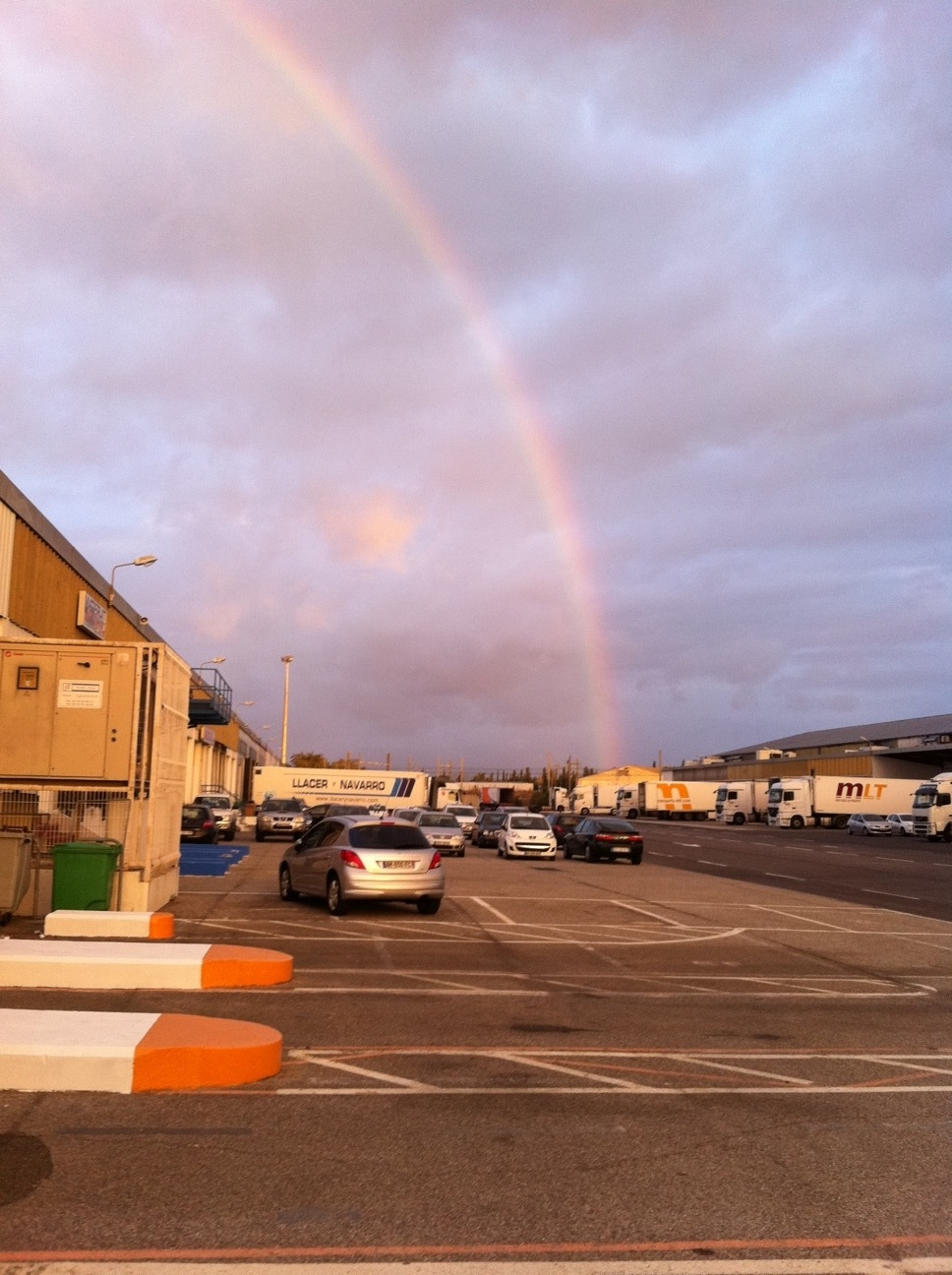 arc en ciel sur saint charles international