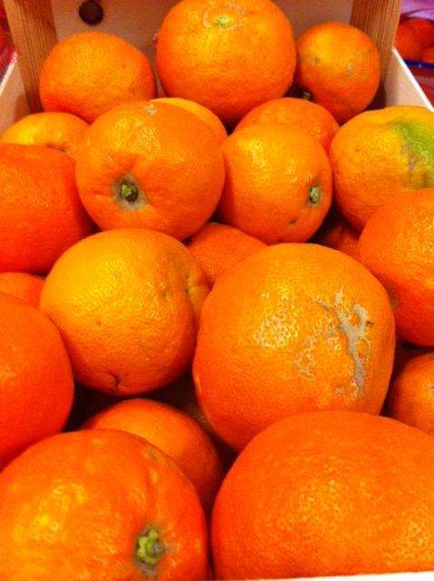 orange amère pour confiture de grand mère