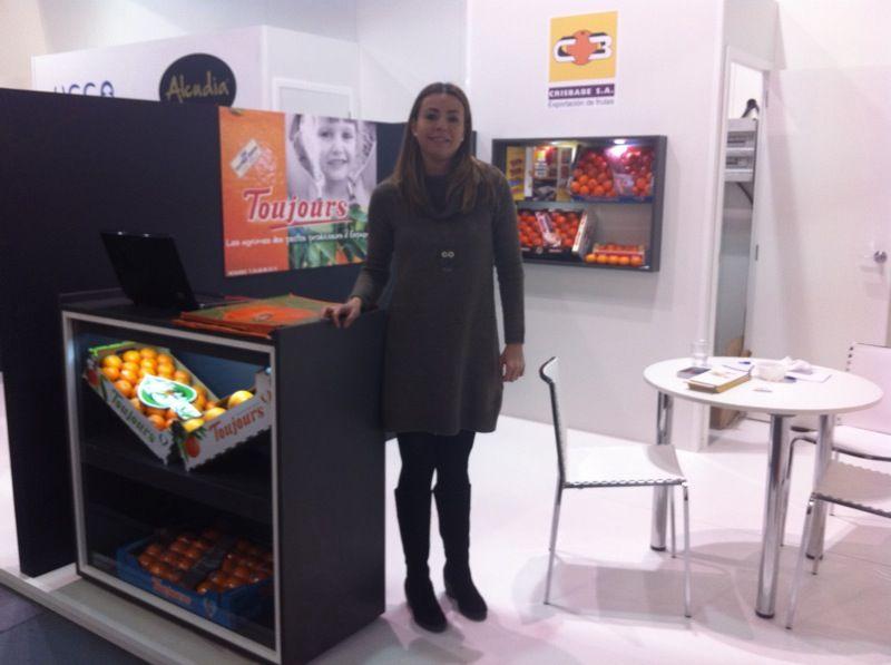 fruit  logistica berlin 2012 ... les agrumes oranges clementines et citrons non traités toujours présent !!