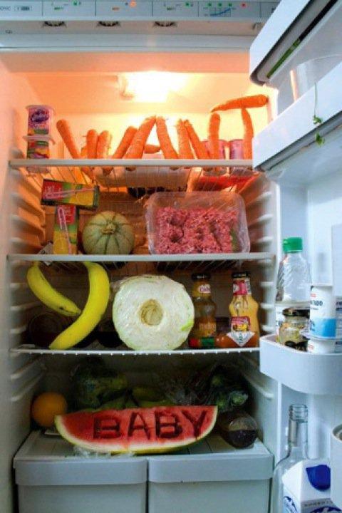 frigo fruits et legumes